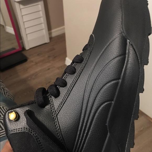 All Black Puma Desierto Sneakers dbbeff2a2